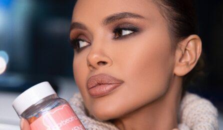 Фолк иконата Мария се грижи за кожата си с витамините SUGARBEARHAIR Women's Multi